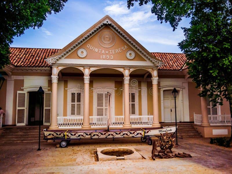 Casa Cultural Quinta Teresa en Cucuta fotos de archivo libres de regalías