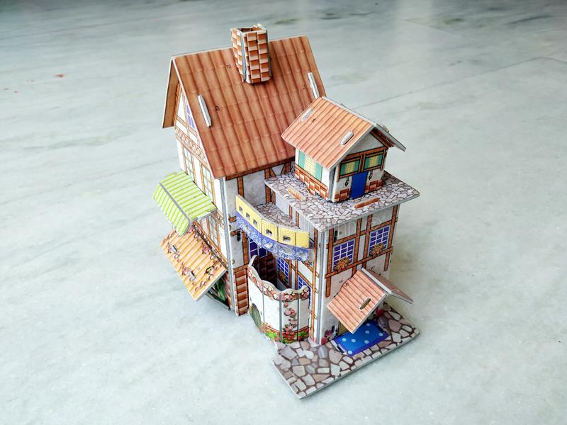 casa 3d moderna su fondo bianco fotografia stock