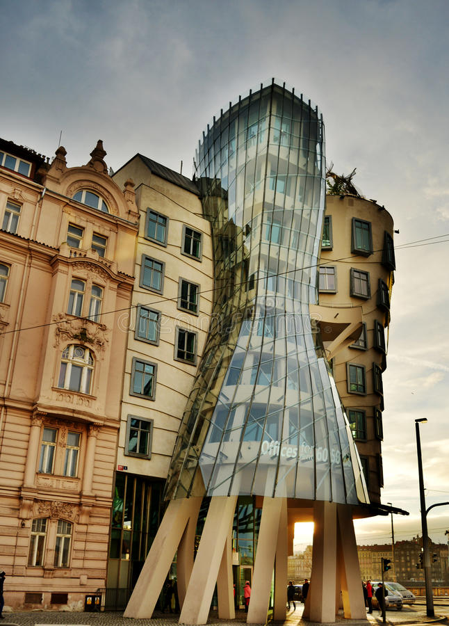 Casa da dança de Praga foto de stock royalty free