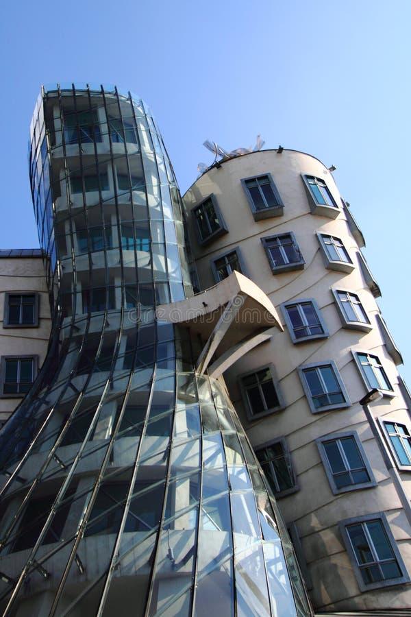 Casa da dança na Praga imagens de stock