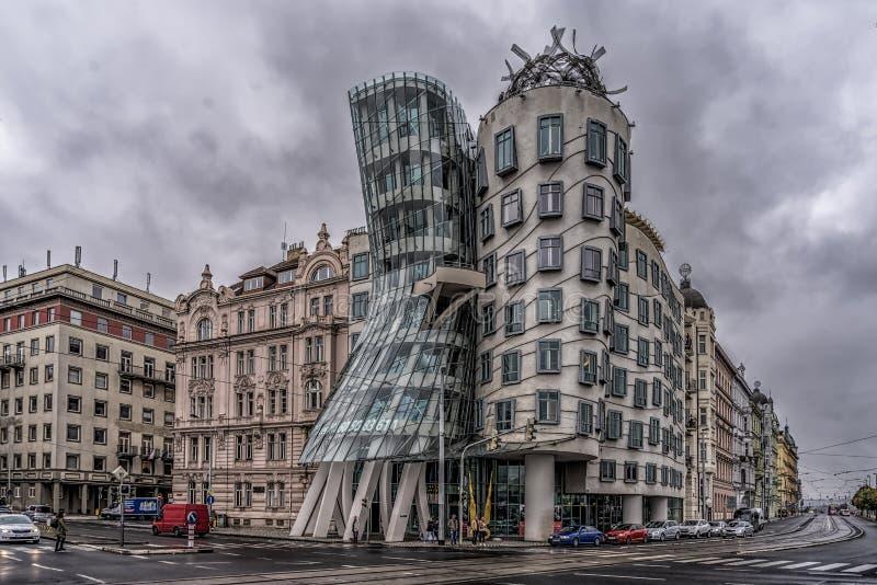 Casa da dança, Praga imagens de stock