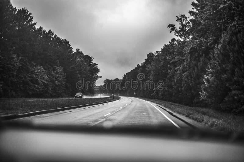 Casa da estrada imagens de stock royalty free