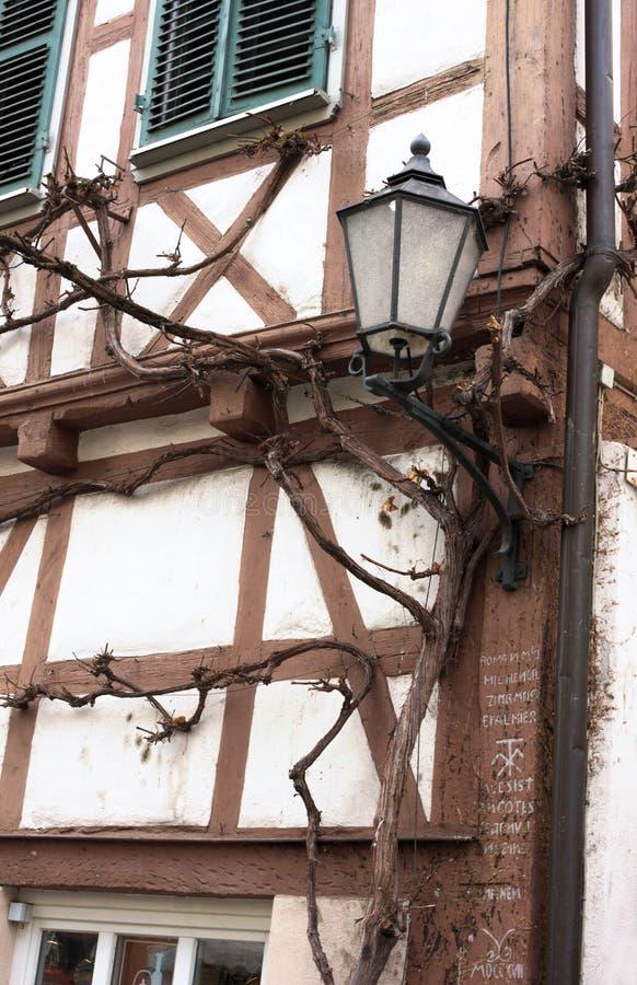 Casa da estrutura - II - Waiblingen - Alemanha foto de stock royalty free