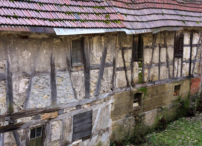 Casa da estrutura - III - Waiblingen - Alemanha foto de stock