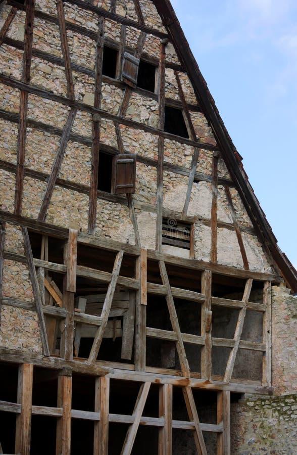Casa da estrutura - VI - Waiblingen - Alemanha fotos de stock royalty free