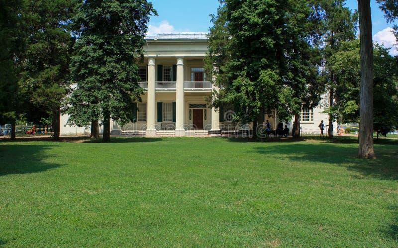 A casa da ex-presidente, Andrew Jackson fotos de stock royalty free
