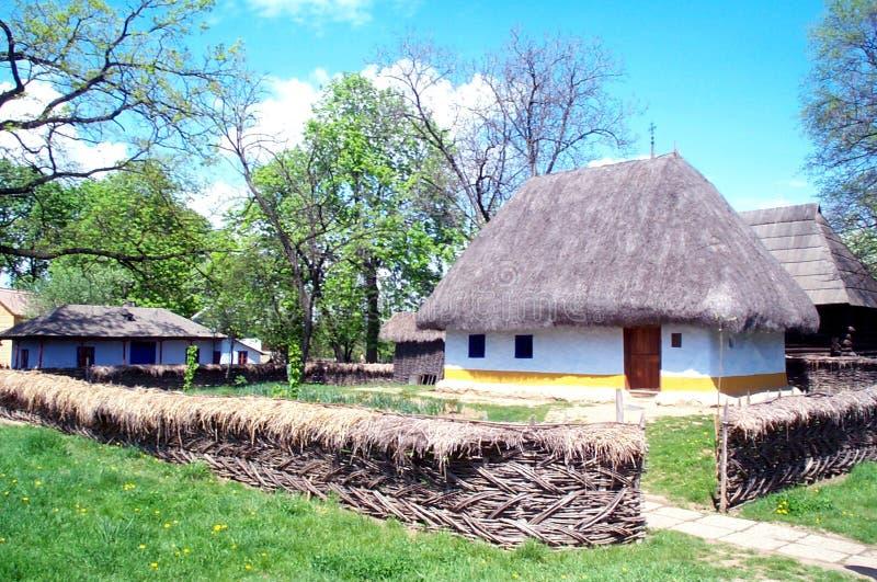 Casa da exploração agrícola foto de stock royalty free