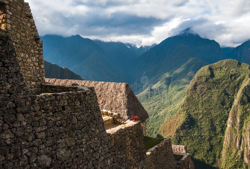 Casa da guarda de Machu Picchu fotos de stock