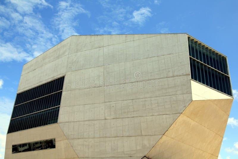 Casa DA Música in Porto, Portugal lizenzfreie stockfotografie