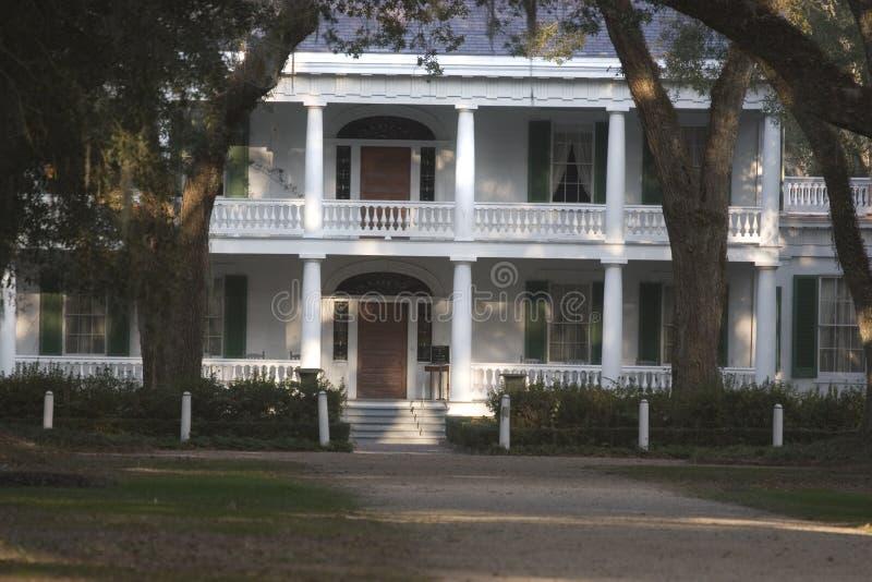 Casa da plantação de Rosedown fotos de stock royalty free