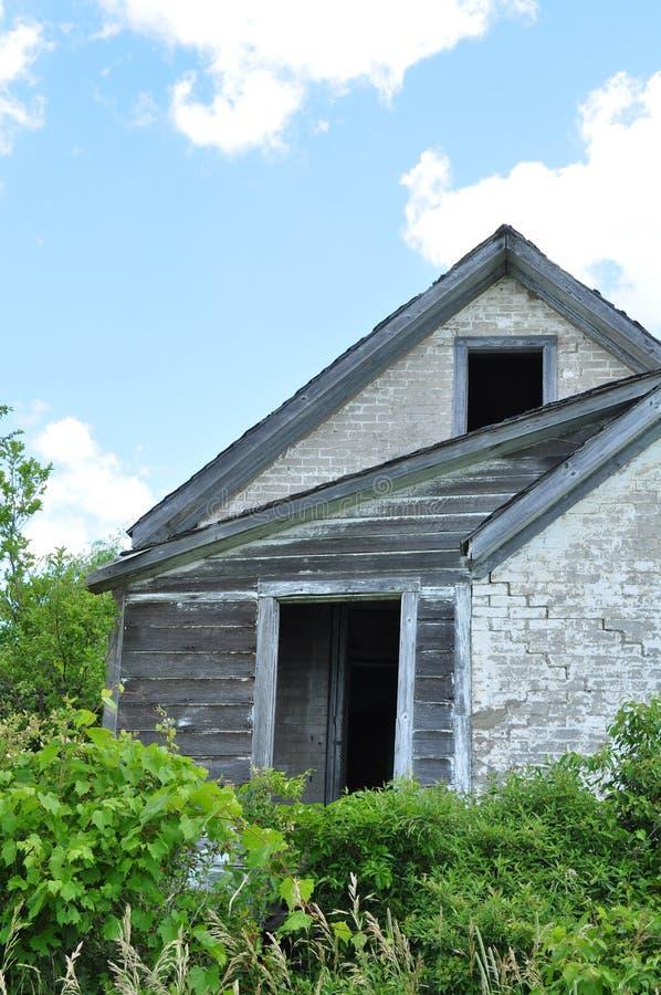 Casa da quinta abandonada fotos de stock royalty free