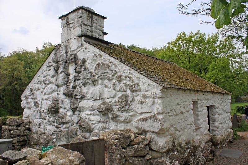 Casa da quinta de Galês imagens de stock royalty free