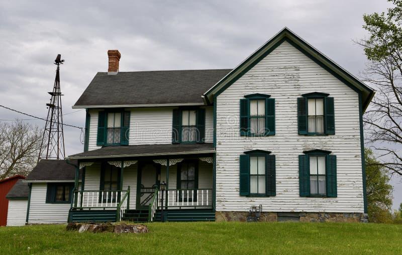 Casa da quinta de LaPorte fotografia de stock royalty free