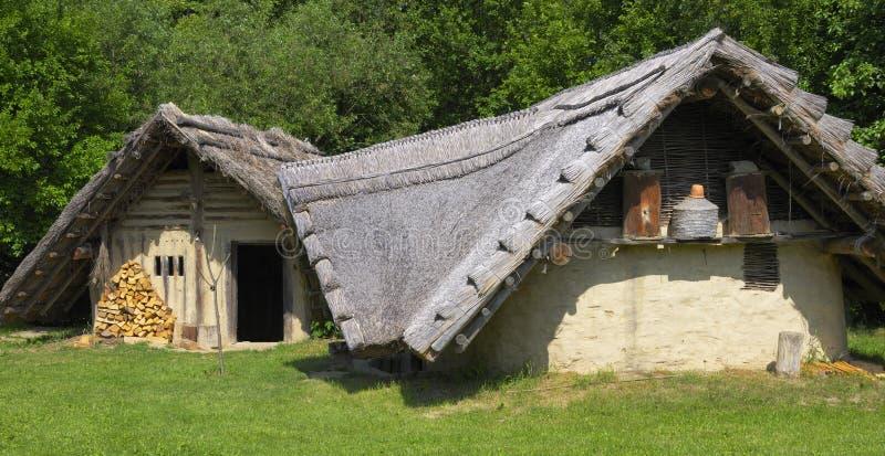 Casa da quinta germânica histórica foto de stock royalty free