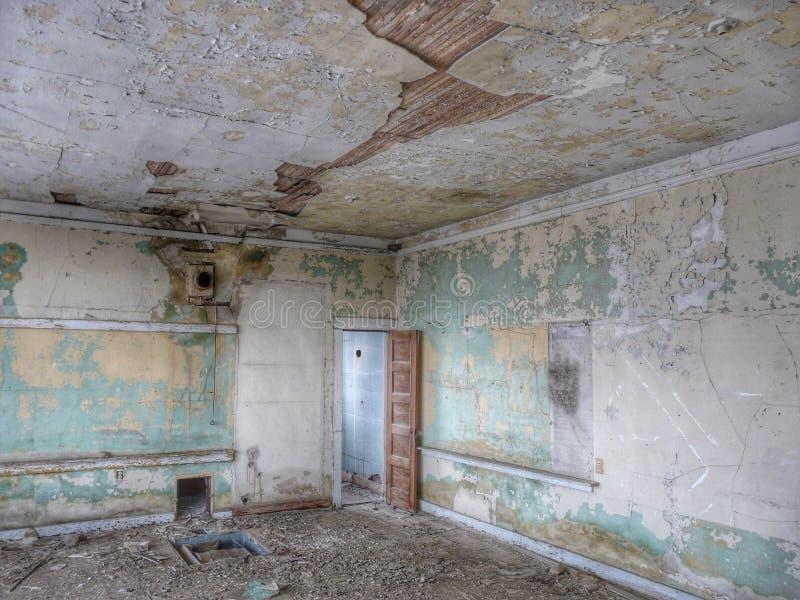 Casa da velha escola foto de stock