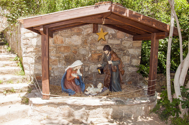 A casa da Virgem Maria, Ephesus, Turquia imagens de stock royalty free
