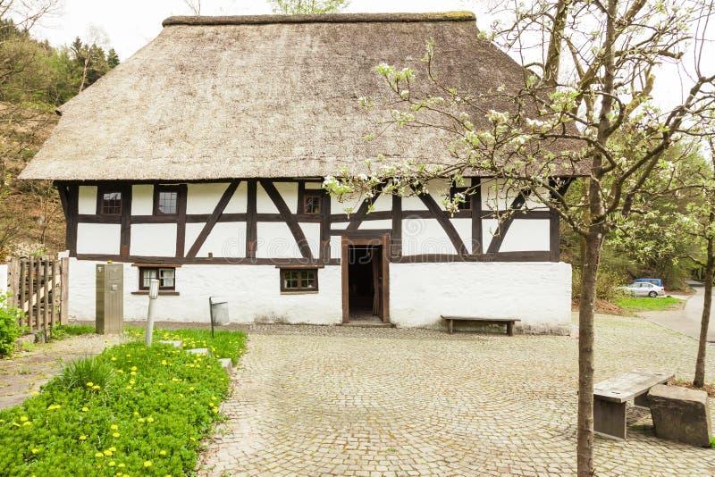 Casa Dahl em Marienheide fotos de stock royalty free