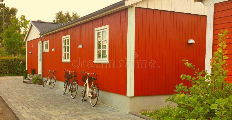 Casa danese tradizionale immagine stock libera da diritti