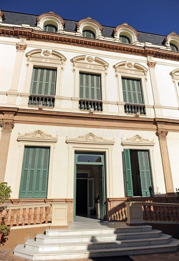 A casa das sereias, Casa de las Sirenas, Alameda de Hercules, Sevilha, Espanha foto de stock royalty free