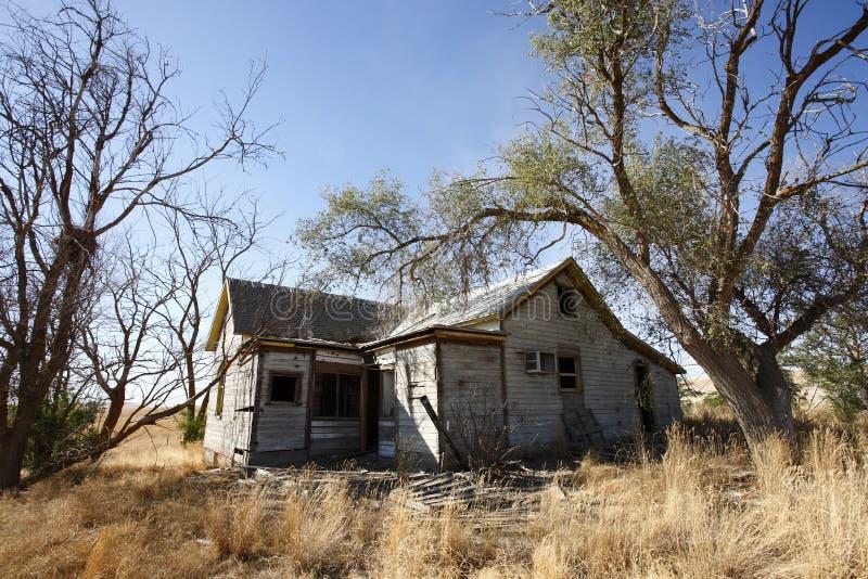 Casa de Abandonded imagen de archivo libre de regalías
