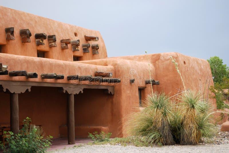 Casa de adôbe de New mexico fotografia de stock royalty free