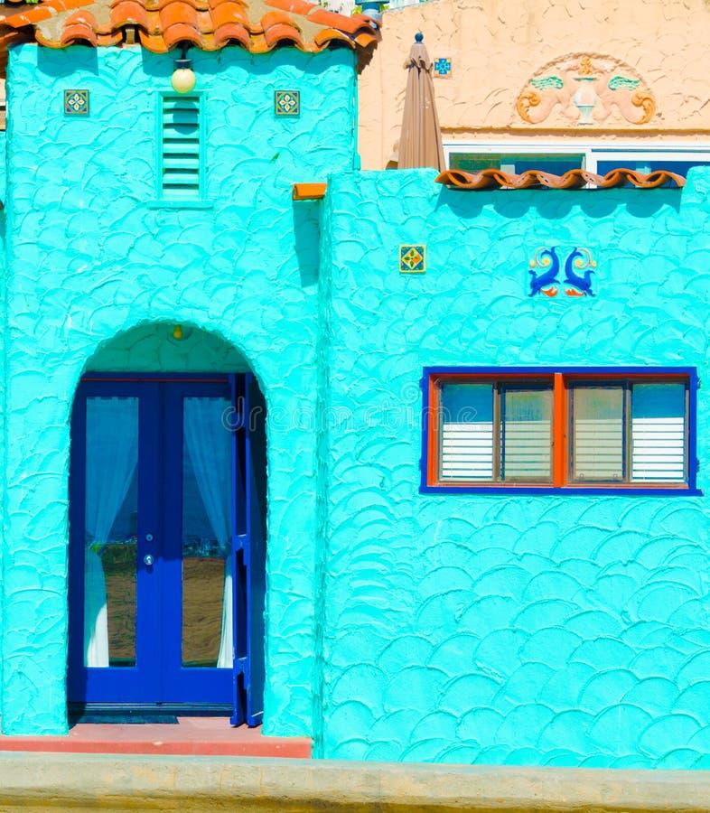 Casa de Adobe imagen de archivo libre de regalías