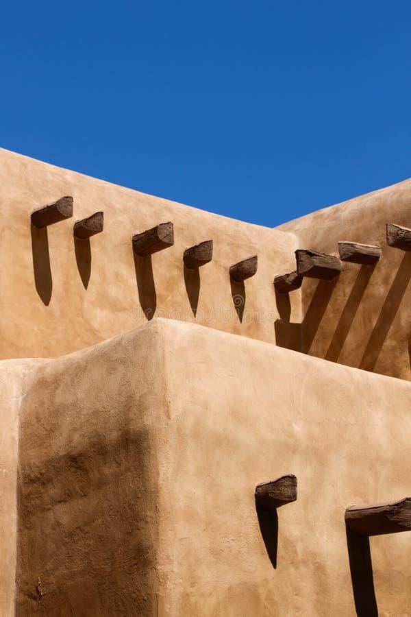 Casa de Adobe al sudoeste imagen de archivo libre de regalías