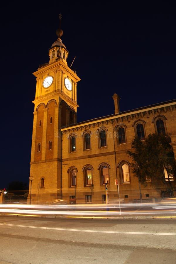 Casa de alfândega - Newcastle Austrália fotos de stock