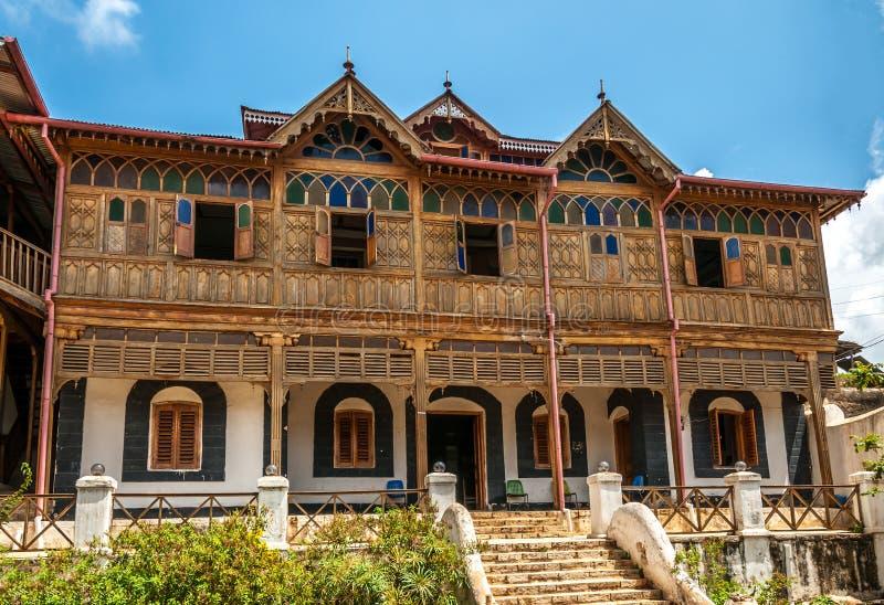 Casa de Arthur Rimbaud em Harar Jugol fotografia de stock