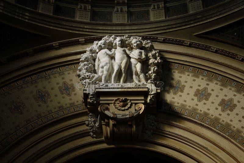 Download Casa de baños de Budapest foto de archivo. Imagen de bóveda - 1298756