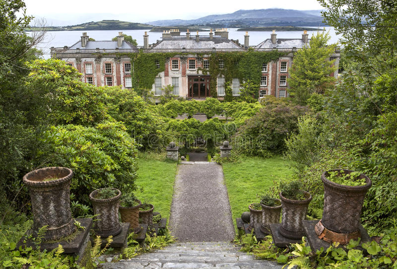 Casa de Bantry, corcho del condado, Irlanda foto de archivo libre de regalías