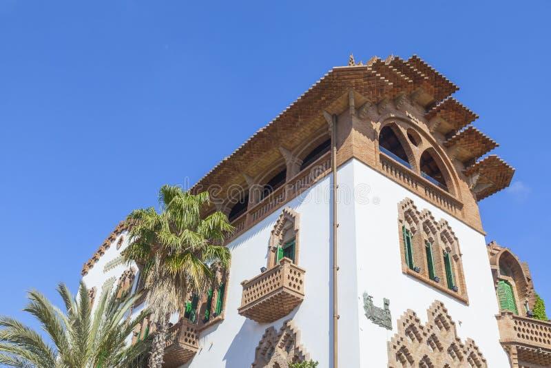 Casa de Barcelona fotografia de stock