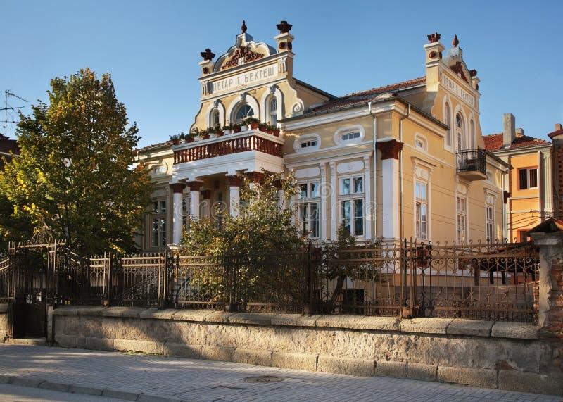 Casa de Bekteshovci en Prilep macedonia imagen de archivo