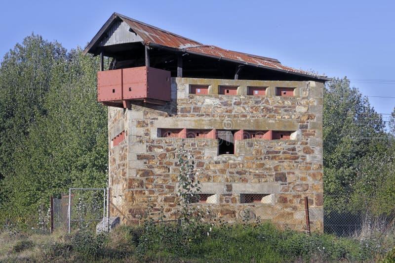 Casa de bloque de la guerra del Anglo-Boer fotografía de archivo libre de regalías