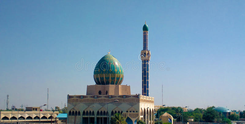 Casa de Bnieh da mesquita (haj Bnieh) foto de stock royalty free