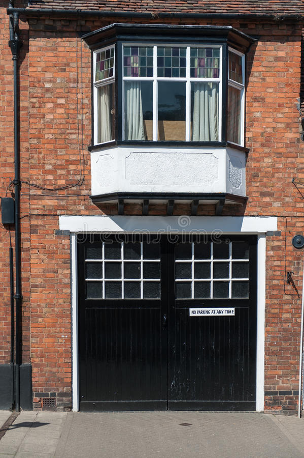 Casa de Bricked fotografia de stock