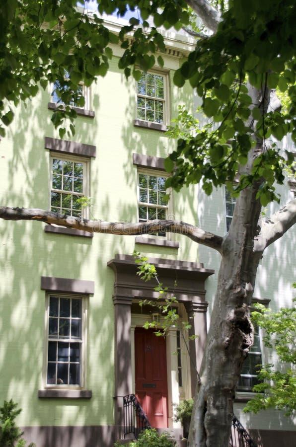 Casa de Brooklyn fotos de stock royalty free