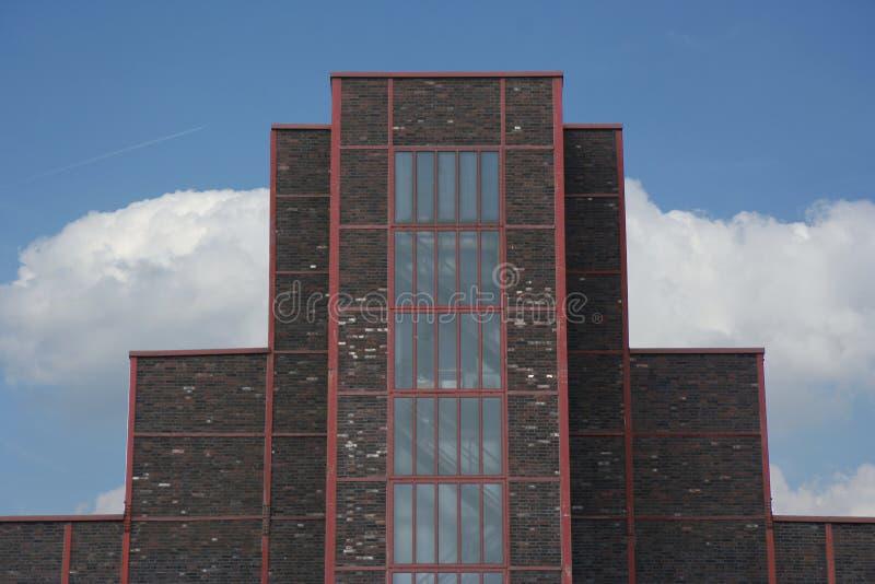 Casa de caldeira de Zollverein imagem de stock royalty free