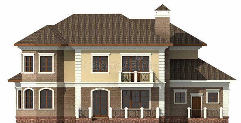 Casa de campo ilustração royalty free