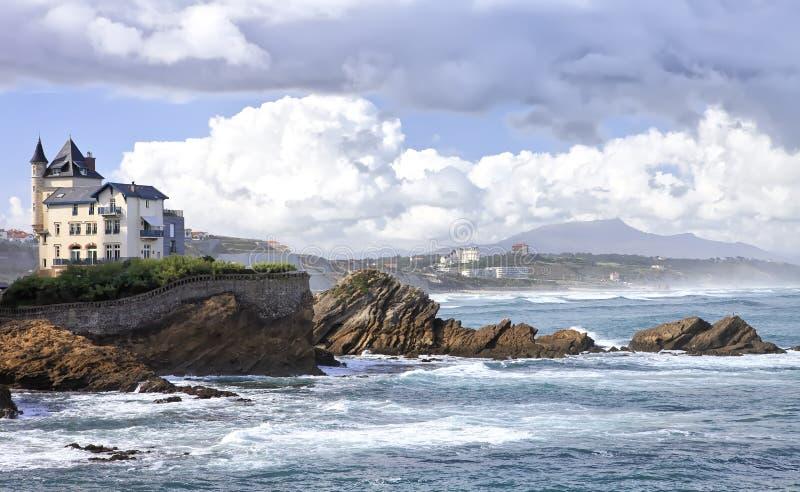 Casa de campo Belza do La em Biarritz fotos de stock