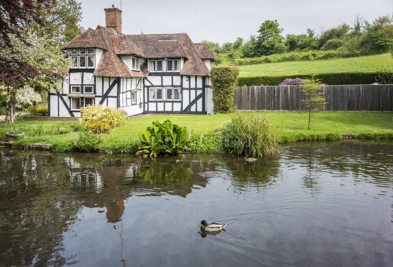 Casa de campo bonita em Kent, Reino Unido imagens de stock royalty free