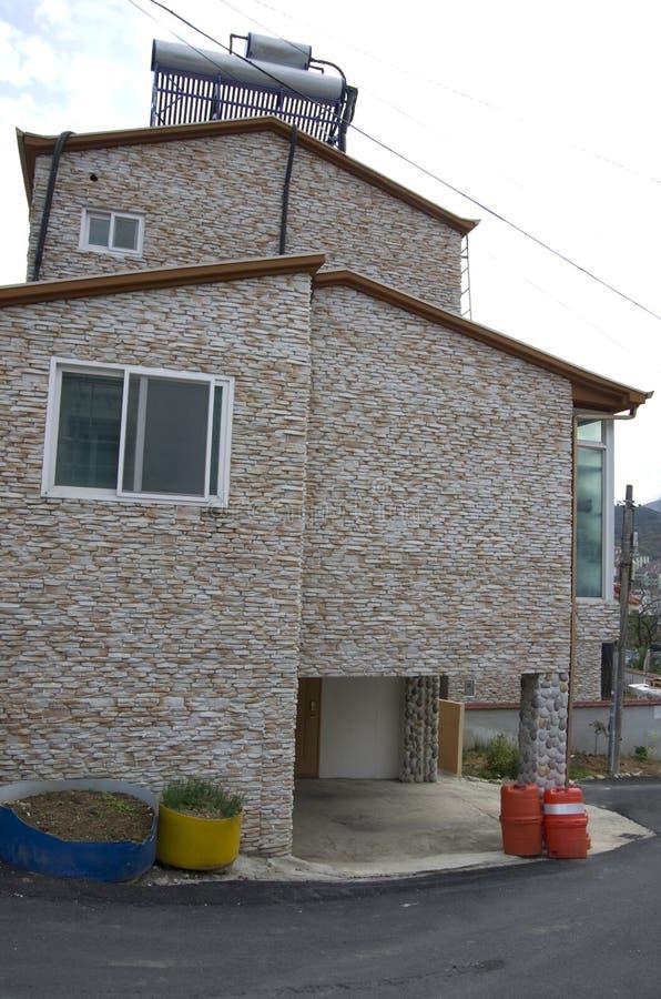 Casa de campo coreana fotografía de archivo