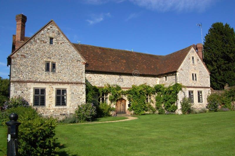 Casa de campo da casa de Chawton foto de stock royalty free