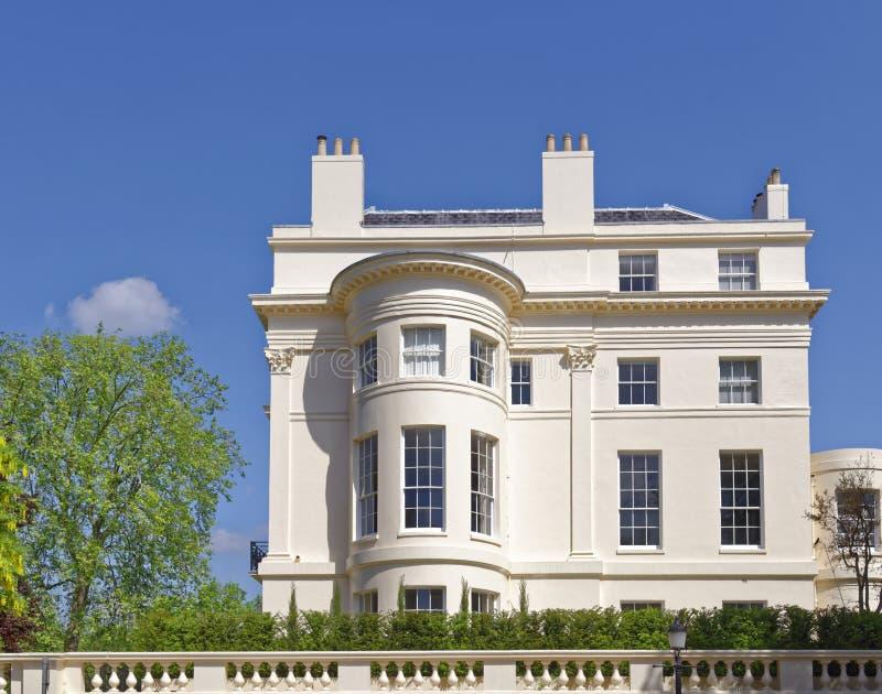Casa de campo da regência, Londres, Inglaterra imagem de stock
