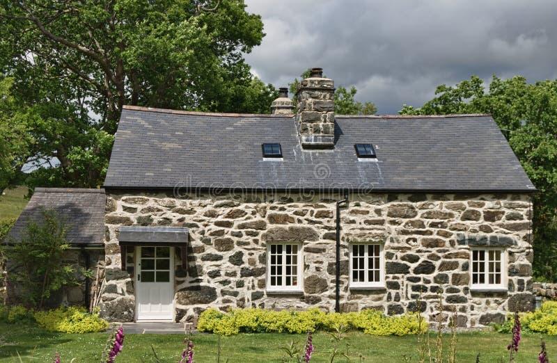 Casa de campo de Galês fotografia de stock royalty free