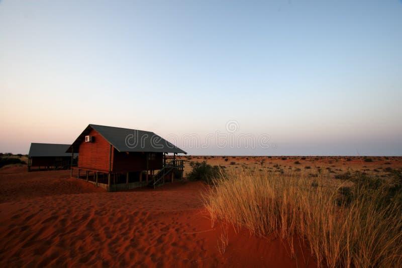 Casa de campo de Kalahari fotos de archivo libres de regalías