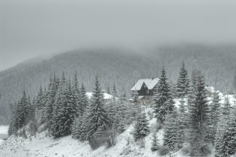 Casa de campo de la montaña
