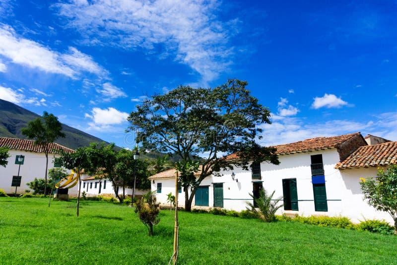 Casa de campo de Leyva Vista foto de stock royalty free