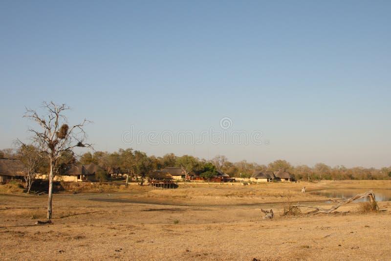 Casa de campo del safari de Arathusa foto de archivo