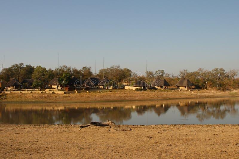Casa de campo del safari de Arathusa fotos de archivo libres de regalías